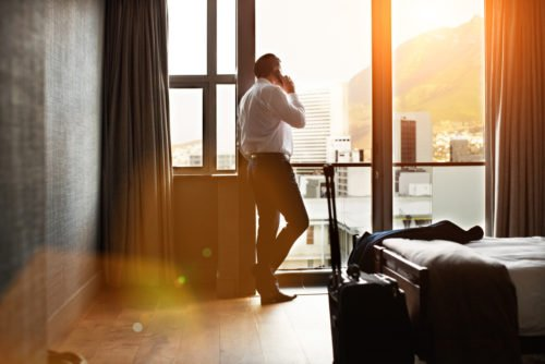 corporate housing offers a restful stay after a long day of work
